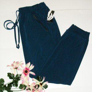 NINE WEST XS Activewear Stretch Pants Blue NWT